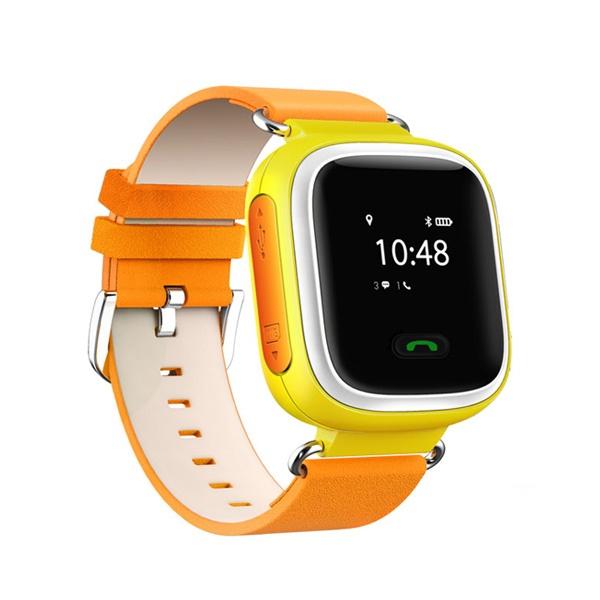 Ceas smartwatch GPS copii MoreFIT™ GW900s, cu GPS si functie telefon, monitorizare spion, pozitie GPS si LBS, buton SOS, Galben + SIM prepay cadou [0]
