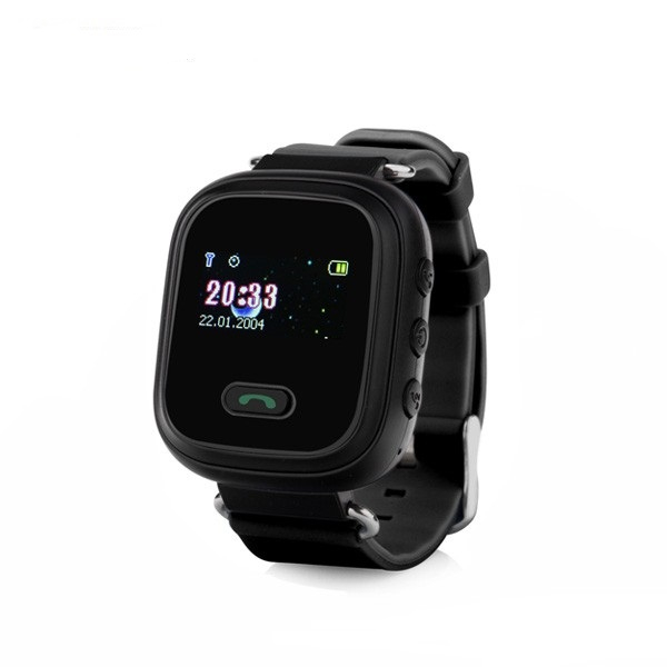 Ceas smartwatch GPS copii MoreFIT™ GW900s, cu GPS si functie telefon, monitorizare spion, pozitie GPS si LBS, buton SOS, Negru + SIM prepay cadou [0]