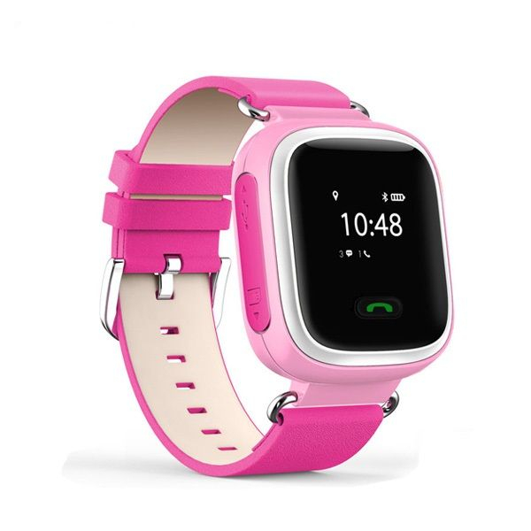 Ceas smartwatch GPS copii MoreFIT™ GW900s, cu GPS si functie telefon, monitorizare spion, pozitie GPS si LBS, buton SOS, Roz + SIM prepay cadou [0]