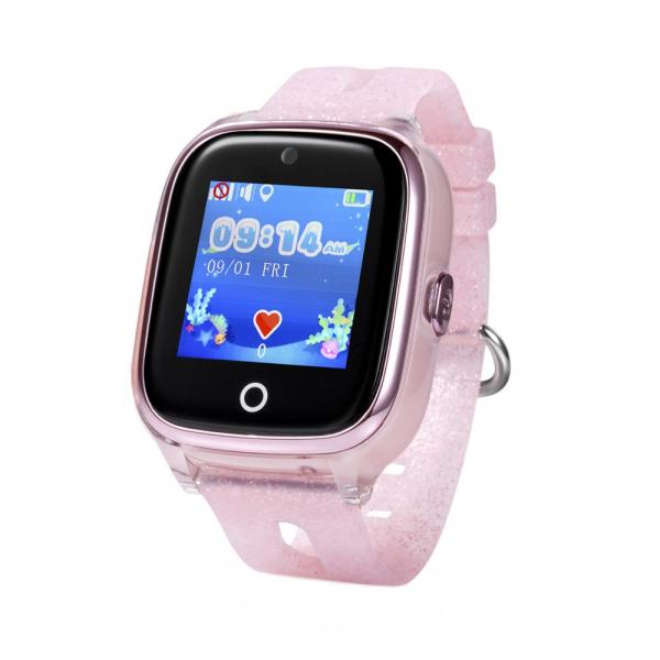 Ceas smartwatch GPS copii MoreFIT™ KT01 Pro WiFi, functie telefon, localizare GPS, localizare camera foto, monitorizare spion, touchscreen, buton SOS, perimetru siguranta , istoric locatie GPS, mod si 0
