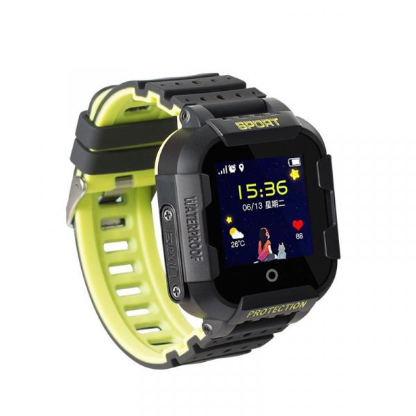 Ceas smartwatch GPS copii MoreFIT™ KT03 Pro WiFi, functie telefon, localizare GPS, localizare camera foto, monitorizare spion, rezistent la soc, touchscreen, buton SOS, perimetru siguranta , istoric l [1]