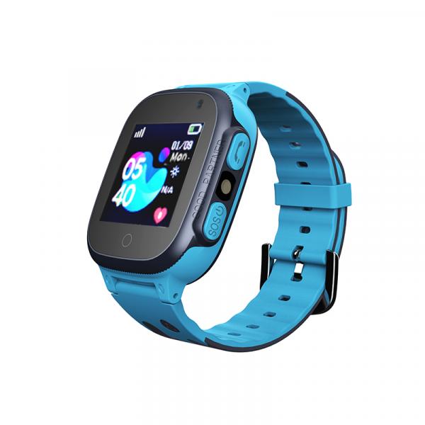 Ceas smartwatch GPS copii MoreFIT™ MX150, cu GPS prin lbs si functie telefon, localizare camera foto frontala, monitorizare spion, display touchsreen color, lanterna,buton SOS,buton apel si sos later [0]