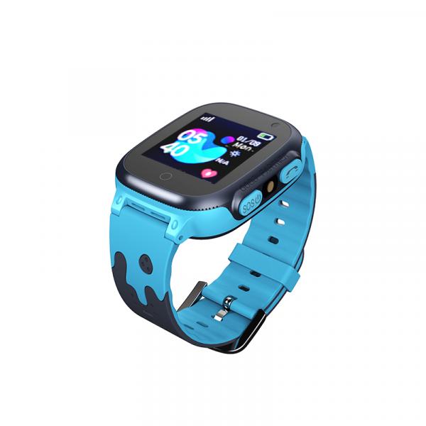 Ceas smartwatch GPS copii MoreFIT™ MX150, cu GPS prin lbs si functie telefon, localizare camera foto frontala, monitorizare spion, display touchsreen color, lanterna,buton SOS,buton apel si sos later [1]