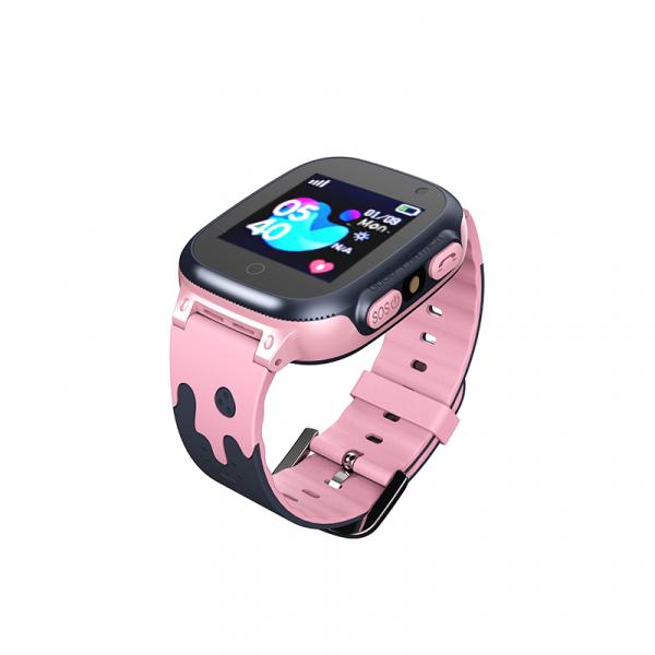 Ceas smartwatch GPS copii MoreFIT™ MX150, cu GPS prin lbs si functie telefon, localizare camera foto frontala, monitorizare spion, display touchsreen color, lanterna,buton SOS,buton apel si sos later 2