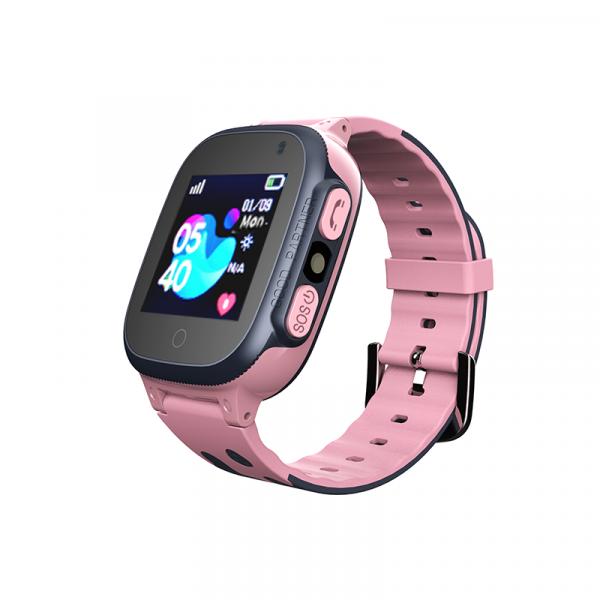 Ceas smartwatch GPS copii MoreFIT™ MX150, cu GPS prin lbs si functie telefon, localizare camera foto frontala, monitorizare spion, display touchsreen color, lanterna,buton SOS,buton apel si sos later 0
