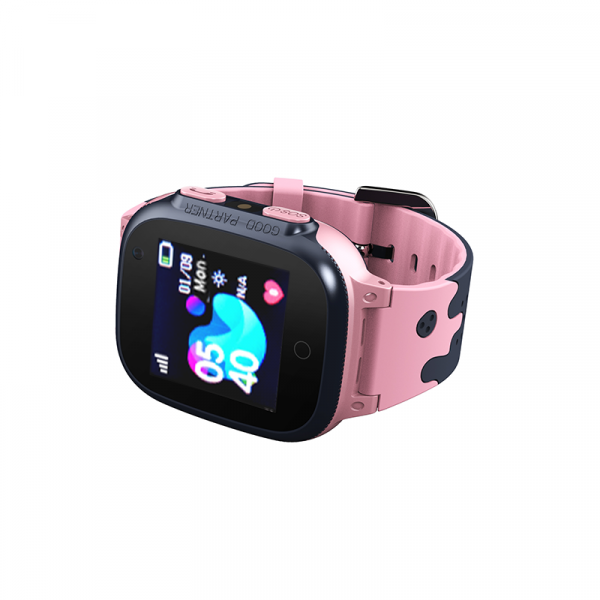 Ceas smartwatch GPS copii MoreFIT™ MX150, cu GPS prin lbs si functie telefon, localizare camera foto frontala, monitorizare spion, display touchsreen color, lanterna,buton SOS,buton apel si sos later 1