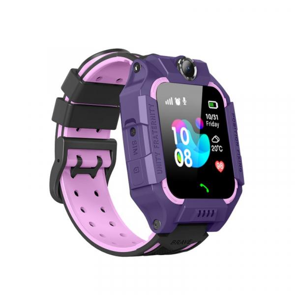 Ceas smartwatch GPS copii MoreFIT™ MX190, cu GPS prin lbs si functie telefon, localizare camera foto frontala, monitorizare spion, display touchsreen color, lanterna,buton SOS,buton apel si sos later 0