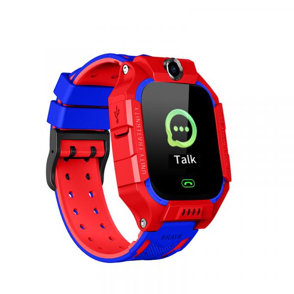 Ceas smartwatch GPS copii MoreFIT™ MX190, cu GPS prin lbs si functie telefon, localizare camera foto frontala, monitorizare spion, display touchsreen color, lanterna,buton SOS,buton apel si sos later [0]