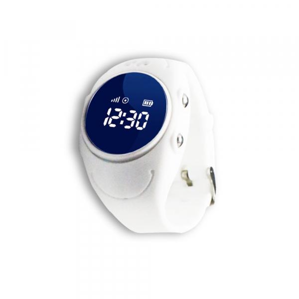 Ceas smartwatch GPS copii MoreFIT™ MX300s, functie telefon, monitorizare GPS in timp real, rezistent la apa IP67, Wi-FI, buton SOS si monitorizare spion, Alb +SIM prepay cadou [1]