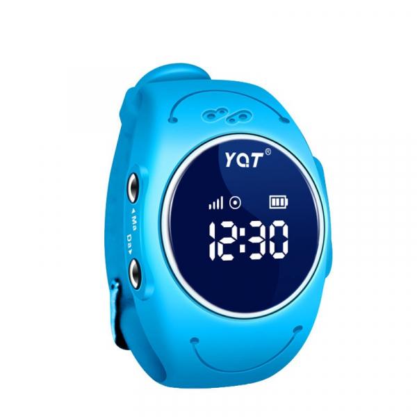 Ceas smartwatch GPS copii MoreFIT™ MX300s, functie telefon, monitorizare GPS in timp real, rezistent la apa IP67, Wi-FI, buton SOS si monitorizare spion, Albastru +SIM prepay cadou 1