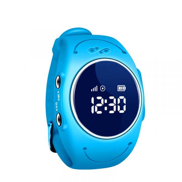 Ceas smartwatch GPS copii MoreFIT™ MX300s, functie telefon, monitorizare GPS in timp real, rezistent la apa IP67, Wi-FI, buton SOS si monitorizare spion, Albastru +SIM prepay cadou 0