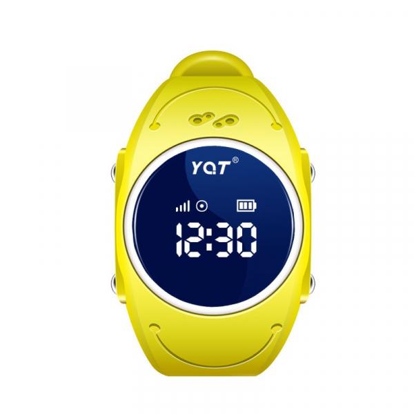 Ceas smartwatch GPS copii MoreFIT™ MX300s, functie telefon, monitorizare GPS in timp real, rezistent la apa IP67, Wi-FI, buton SOS si monitorizare spion, Galben +SIM prepay cadou 0