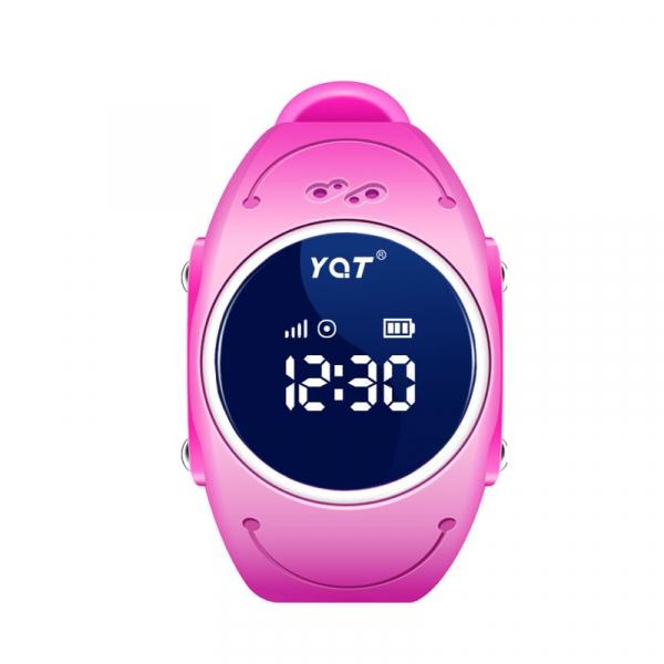 Ceas smartwatch GPS copii MoreFIT™ MX300s, functie telefon, monitorizare GPS in timp real, rezistent la apa IP67, Wi-FI, buton SOS si monitorizare spion, Roz +SIM prepay cadou [0]