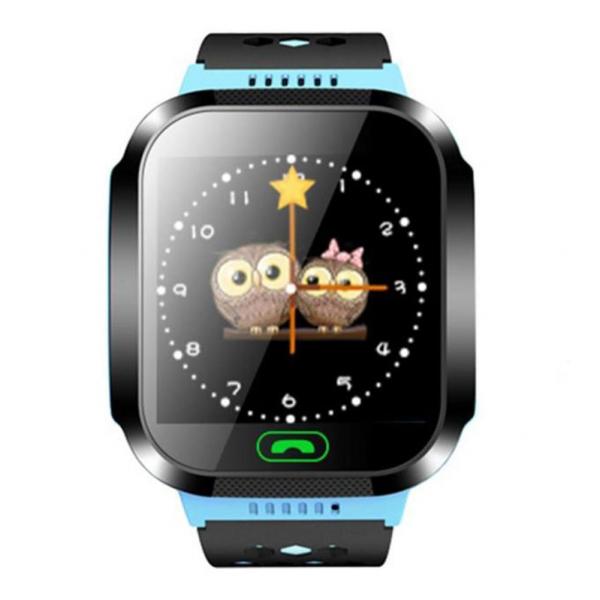 Ceas smartwatch GPS copii MoreFIT™ MX528, cu GPS prin lbs si functie telefon, localizare camera foto laterala, monitorizare spion, display touchsreen color, lanterna,buton SOS,buton apel lateral, Alb [1]