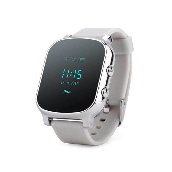 Ceas smartwatch GPS copii sau adultii MoreFIT™ GW700, cu GPS si functie telefon,Wi-Fi, monitorizare spion, buton SOS, Argintiu + SIM prepay cadou 0