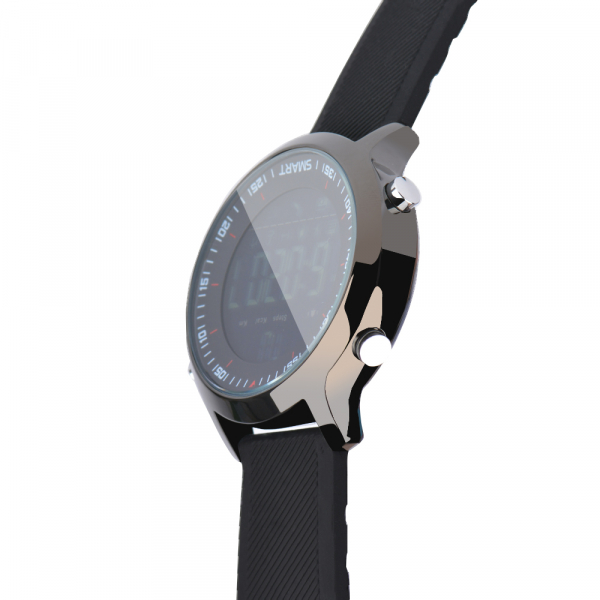 Ceas Smartwatch MoreFIT™ EX18 Plus, BT 4.0, autonomie baterie extra pana la 20 luni, sport , notificari apeluri, sms, negru 3