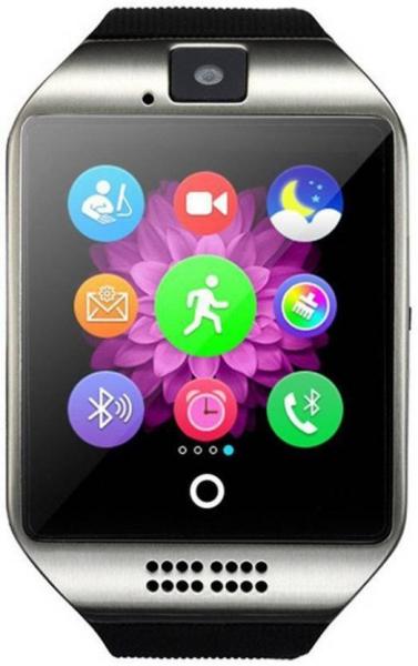 "Ceas Smartwatch MoreFIT™  Q18 Plus Pro, cu sim, display 1.54"", camera foto, carcasa metalica, ecran curbat, NFC, BT 3.0, silver 2"