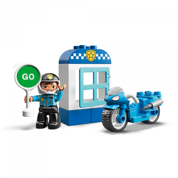 LEGO® DUPLO® - Motocicleta de politie 10900 [1]