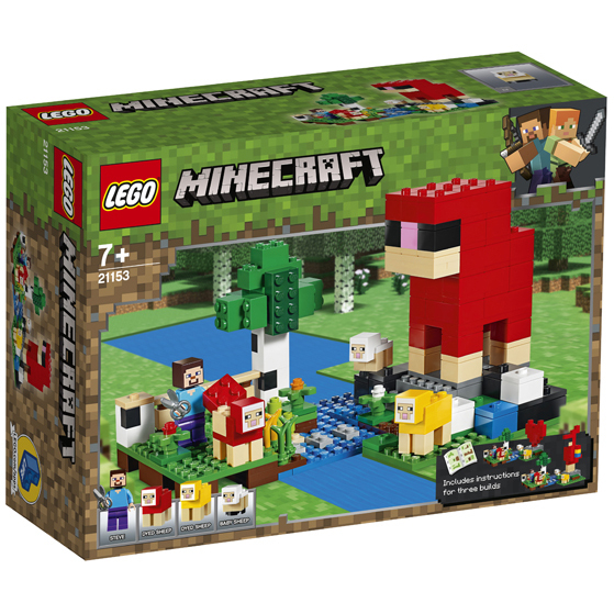 LEGO® Minecraft - Ferma de lana 21153 0