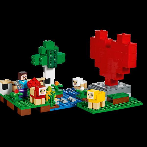 LEGO® Minecraft - Ferma de lana 21153 4