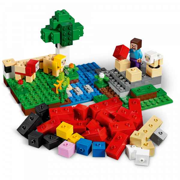 LEGO® Minecraft - Ferma de lana 21153 2