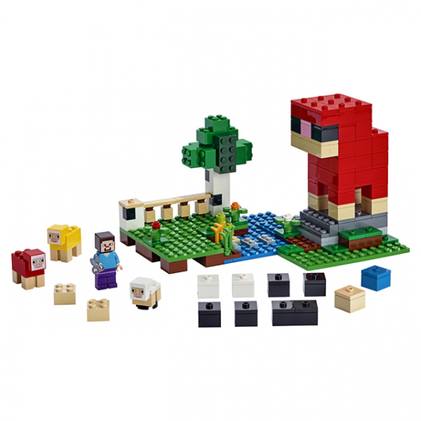 LEGO® Minecraft - Ferma de lana 21153 1