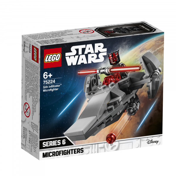 LEGO® Star Wars™ - Sith Infiltrator™ Microfighter 75224 4