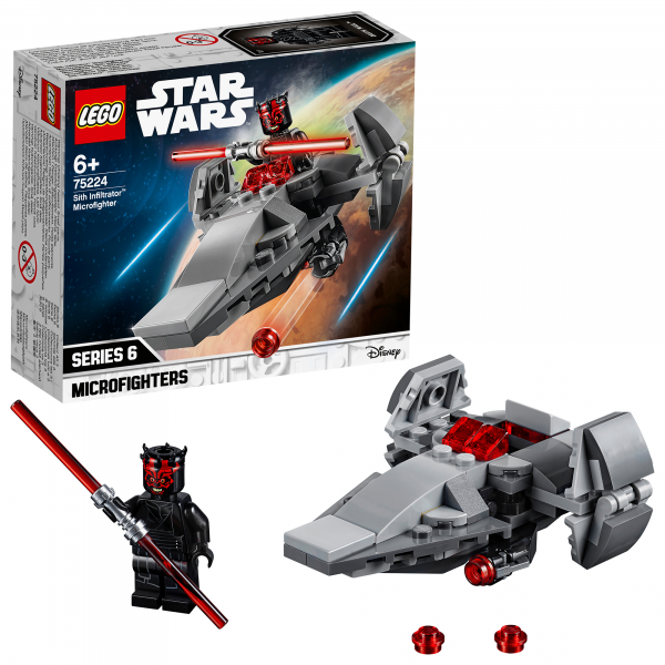 LEGO® Star Wars™ - Sith Infiltrator™ Microfighter 75224 0