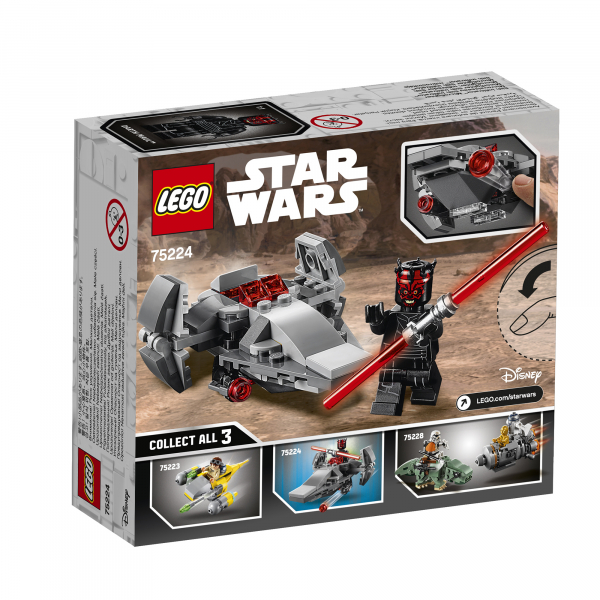 LEGO® Star Wars™ - Sith Infiltrator™ Microfighter 75224 5