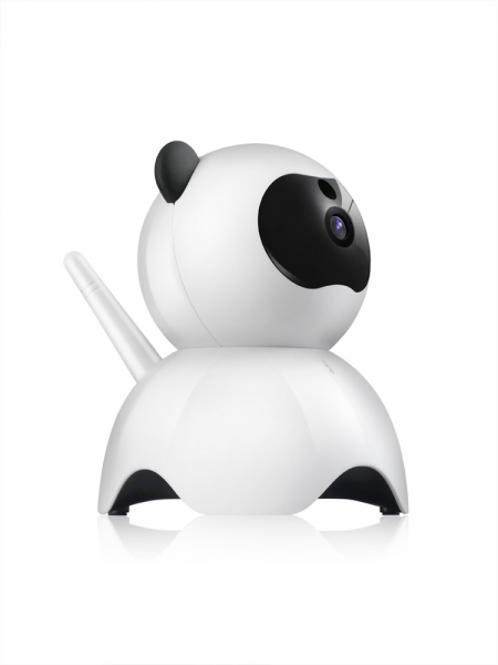 Set Baby Monitor Wireless BabyToy™ AR18 , monitorizare video audio bebelusi , vedere nocturna, sunet bidirectional, functie push to talk, rotire automata, FullHD 1920*1080, camera 2.0 MP, senzor misca 2