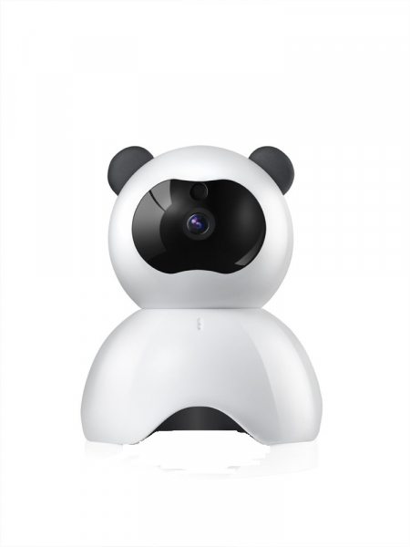 Set Baby Monitor Wireless BabyToy™ AR18 , monitorizare video audio bebelusi , vedere nocturna, sunet bidirectional, functie push to talk, rotire automata, FullHD 1920*1080, camera 2.0 MP, senzor misca 1