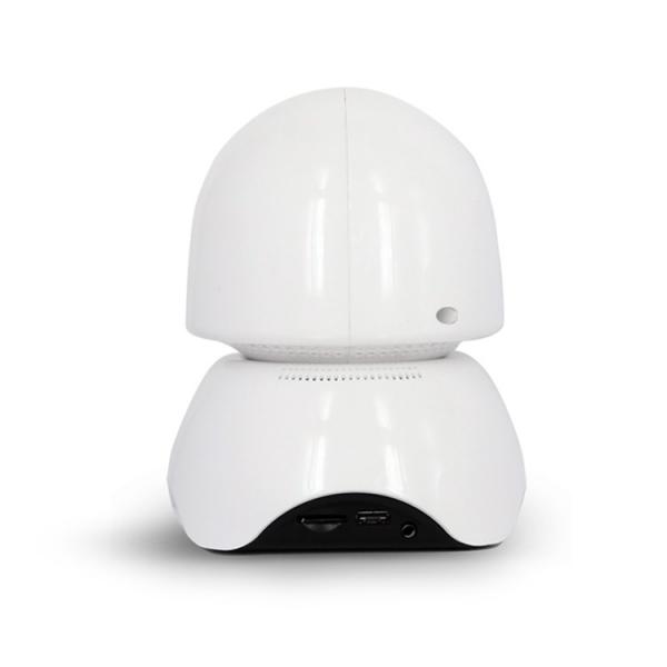 Set Baby Monitor Wireless BabyToy™ AR23 , Monitorizare Video Audio Bebelusi , Vedere Nocturna, Sunet Bidirectional, Functie Push To Talk, Rotire Automata, Full HD 2MP 1920*1080, Senzor Miscare, Alb + [1]
