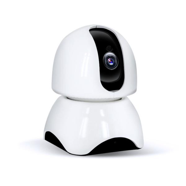 Set Baby Monitor Wireless BabyToy™ AR23 , Monitorizare Video Audio Bebelusi , Vedere Nocturna, Sunet Bidirectional, Functie Push To Talk, Rotire Automata, Full HD 2MP 1920*1080, Senzor Miscare, Alb + [0]