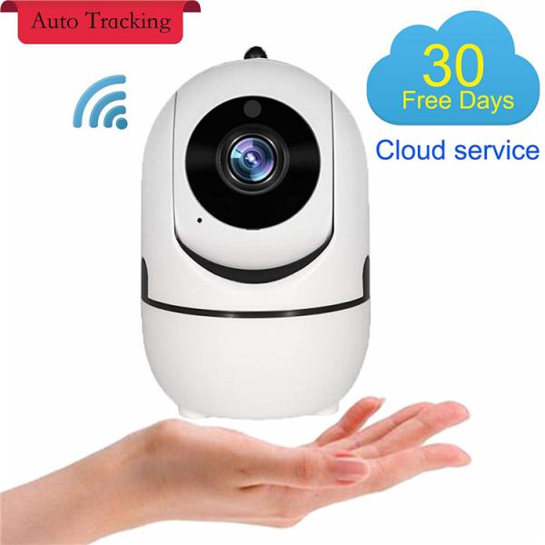 Set Baby Monitor Wireless BabyToy™ AR26 , Monitorizare Video Audio Bebelusi , Vedere Nocturna, Sunet Bidirectional, Functie Push To Talk, Rotire Automata, Full HD 2MP 1920*1080, Senzor Miscare, Alb +  4