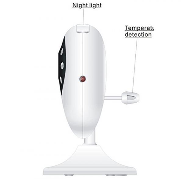 Set Baby Monitor Wireless BabyToy™ SP880 Plus , Monitorizare Video Audio Bebelusi , Monitorizare Temperatura , Vedere Nocturna, Audio-Video, Sunet bidirectional, Functie Push to Talk, 8 Cantece de lea [3]