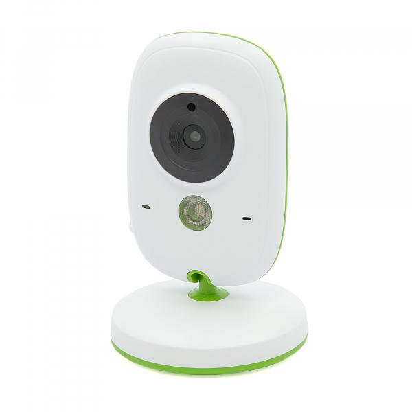 Set Baby Monitor Wireless BabyToy™ VB602 Plus , Monitorizare Video Audio Bebelusi , Monitorizare Temperatura , Vedere Nocturna, Audio-Video, Sunet bidirectional, Functie Push to Talk, 8 Cantece de lea 1
