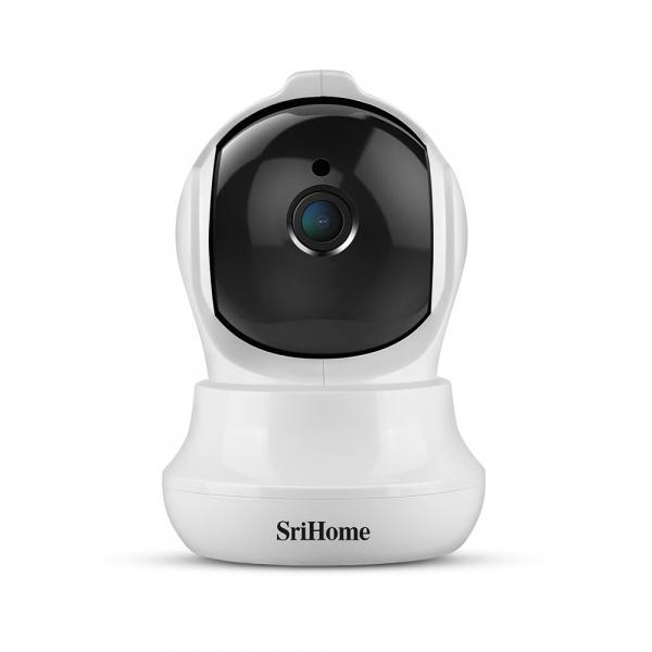 Set Baby Monitor Wireless Sricam™ SH020 Plus SriHome, FullHD 2MP, Monitorizare Video Audio Bebelusi , Auto Tracking, Vedere Nocturna, Audio-Video, Sunet bidirectional, Rotire automata, rezolutie 1920* 1
