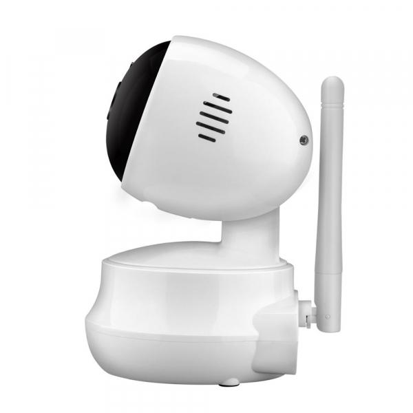 Set Baby Monitor Wireless Sricam™ SP025 Plus, Monitorizare Video Audio Bebelusi , Vedere Nocturna, Audio-Video, Sunet bidirectional, Functie Push to Talk, Rotire automata, HD 1280*720, 1.0 MP, senzor  2