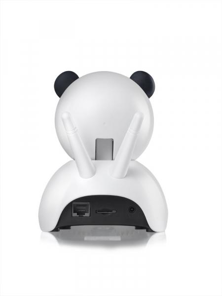 """Set Camera de supraveghere IP WIFI BabyToy™ AG18 , Conectare Telefon / PC , Night vision, Rotire automata, FullHD 1920*1080, camera 2.0 MP, senzor miscare, alb + sticker """"obiectiv supravegheat video"""" [3]"""