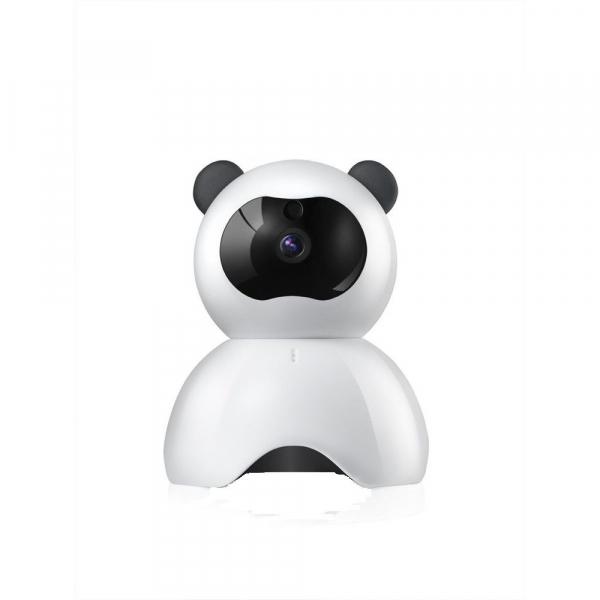 """Set Camera de supraveghere IP WIFI BabyToy™ AG18 , Conectare Telefon / PC , Night vision, Rotire automata, FullHD 1920*1080, camera 2.0 MP, senzor miscare, alb + sticker """"obiectiv supravegheat video"""" [2]"""