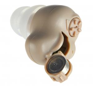 Amplificator de sunet GreatEars™ G15 Mini Premium , cu baterii , autonomie pana la 200h, 120 dB, 3 accesorii, pentru adulti , crem1