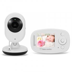 Baby Monitor Wireless BabyToy™ SP820 Plus , Monitorizare Video Audio Bebelusi , Monitorizare Temperatura , Vedere Nocturna, Audio-Video, Sunet bidirectional, Functie Push to Talk, Detectare miscare , 0