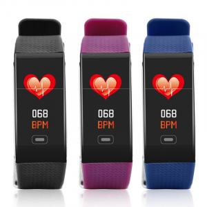 Bratara fitness MoreFIT™ CK18S, BT 4.0, Puls, Pedometru, Display color, Ritm cardiac, Monitorizare somn, Mod Sport, Notificari Apeluri si Mesaje, Stand-by 20 zile, Android, iOS, Albastru1