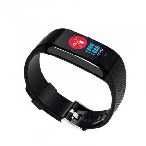 Bratara fitness MoreFIT™ CK18S, BT 4.0, Puls, Pedometru, Ritm cardiac, Display color, Monitorizare somn, Mod Sport, Notificari Apeluri si Mesaje, Stand-by 20 zile, Android, iOS, Negru [3]