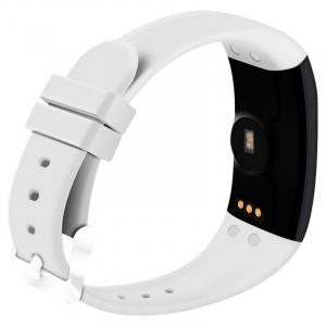 Bratara fitness MoreFIT™ D21, BT 4.0, Pedometru, Puls, Tensiune, Nivel oboseala, Monitorizare somn, Calendar, Notificari apeluri, Stand-by 15 zile, Android, iOS, Notificari, Remote camera, Alb2