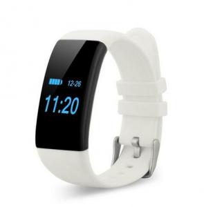Bratara fitness MoreFIT™ D21, BT 4.0, Pedometru, Puls, Tensiune, Nivel oboseala, Monitorizare somn, Calendar, Notificari apeluri, Stand-by 15 zile, Android, iOS, Notificari, Remote camera, Alb0