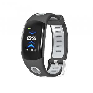 Bratara fitness MoreFIT™ DM11, ecran color 3D curbat, IP68, puls dinamic Bosch, management somn, stand by 10 zile, notificari, negru0