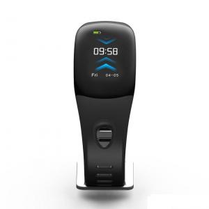 Bratara fitness MoreFIT™ DM11, ecran color 3D curbat, IP68, puls dinamic Bosch, management somn, stand by 10 zile, notificari, negru1
