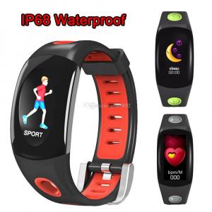 Bratara fitness MoreFIT™ DM11, ecran color 3D curbat, IP68, puls dinamic Bosch, management somn, stand by 10 zile, notificari, rosu3