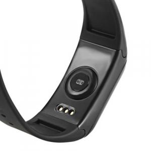 Bratara fitness MoreFIT™ F1 Pro , BT 4.0, rezistenta la apa, puls, nivel oxigen, tensiune, Android, iOS, intrare apeluri, vibratii, negru. [3]